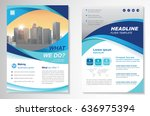 template vector design for... | Shutterstock .eps vector #636975394