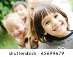 happiness without limit  happy... | Shutterstock . vector #63699679
