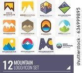 mountain wild adventure vector... | Shutterstock .eps vector #636999895