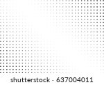 abstract halftone dotted... | Shutterstock .eps vector #637004011