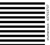 black and white stripe | Shutterstock .eps vector #637013737