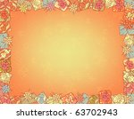 background with frame of... | Shutterstock . vector #63702943