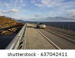 lofoten islands  village of... | Shutterstock . vector #637042411