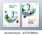 brochure template layout design.... | Shutterstock .eps vector #637078864