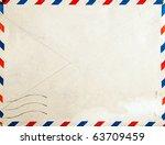 old post envelope  background | Shutterstock . vector #63709459