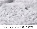 crystal of salt | Shutterstock . vector #637103371
