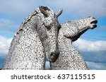 falkirk  scotland   august 22 ... | Shutterstock . vector #637115515