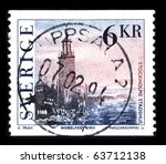 sweden   circa 1994  a stamp... | Shutterstock . vector #63712138