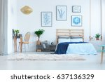Beautiful  White Bedroom With...