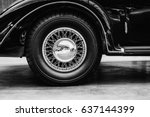 A Close Up Of Wheel Disk And...