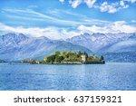 isola bella island on the...   Shutterstock . vector #637159321