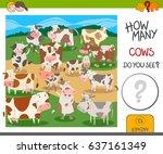 cartoon vector illustration of... | Shutterstock .eps vector #637161349