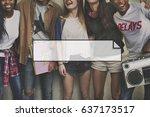 advertising badge branding...   Shutterstock . vector #637173517