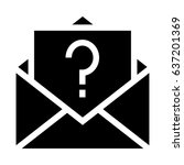 unknown email  | Shutterstock .eps vector #637201369