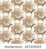 seamless  color pattern with... | Shutterstock .eps vector #637220425