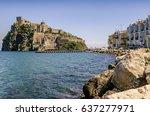 Ischia Ponte With Castle...