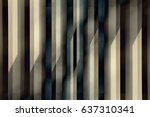 louvered   stair step structure ... | Shutterstock . vector #637310341
