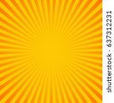 Sun Sunburst Pattern. Vector...