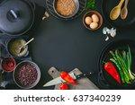Cooking Ingredients Dark...
