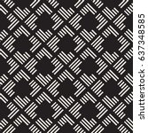 seamless pattern with stripes.... | Shutterstock .eps vector #637348585