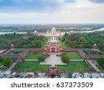 taj mahal  one of the 7 wonders ... | Shutterstock . vector #637373509