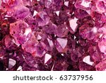 Texture From Natural Amethyst