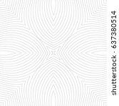 seamless guilloche vector... | Shutterstock .eps vector #637380514