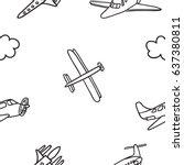 Hand Drawn Vector Seamless...