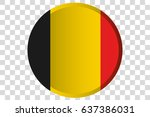 a 3d button of the flag of ...   Shutterstock .eps vector #637386031