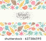 Summer Time Horizontal Banner....
