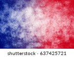 abstract patriotic red white... | Shutterstock . vector #637425721