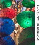 chiang mai  thailand   may 10th ... | Shutterstock . vector #637437745
