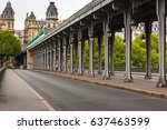 Metal Columns And Abutments Of...