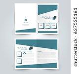 abstract flyer design... | Shutterstock .eps vector #637535161