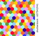 color composition | Shutterstock .eps vector #637541941