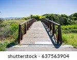 Bridge In Shoreline Park ...