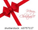 beautiful  festive  red... | Shutterstock . vector #63757117