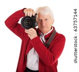 Senior Female Photographer