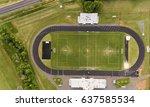 aerial birds eye view of a... | Shutterstock . vector #637585534