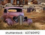 Abandoned Car   Bodie Ghost...