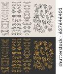 vintage elements for your... | Shutterstock .eps vector #637646401