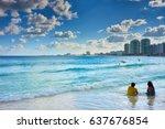 Main Beach At Hotel Zone Of...