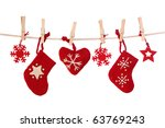Christmas Decoration Isolated...