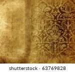 Vintage Shabby Background With...