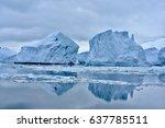 Icebergs Blocking Passage...