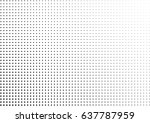 abstract halftone dotted... | Shutterstock .eps vector #637787959