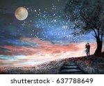 Fantasy Illustration With Nigh...
