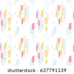 abstract seamless background... | Shutterstock .eps vector #637791139