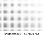 abstract halftone dotted... | Shutterstock .eps vector #637801765