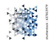 modern graphic design elements. ... | Shutterstock .eps vector #637815979